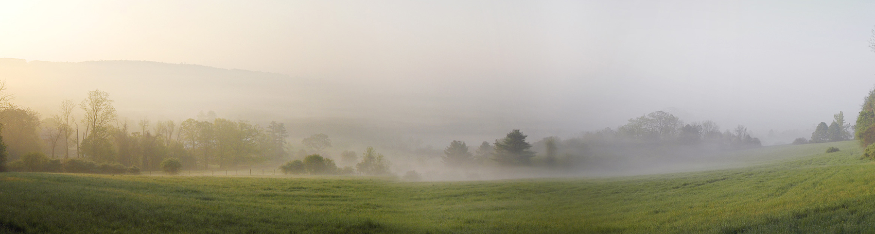 Mist on The Berkshires Kevin Sprague