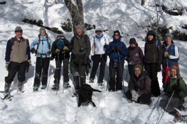 Saturday, February 6th Winter Wonderland Snowshoe Hike 1pm-4pm