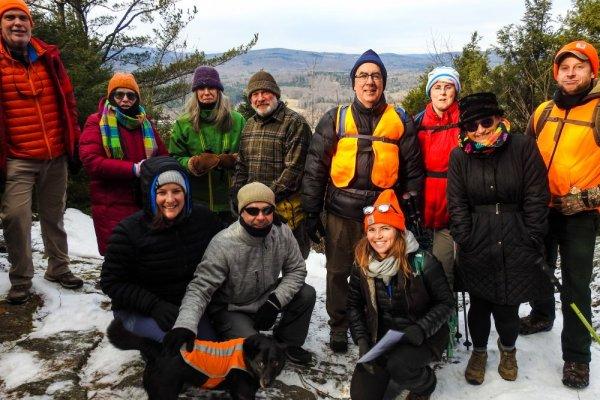 Happy Hikers at Yokun Ridge South